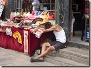 Winkelbediende in Pingyao
